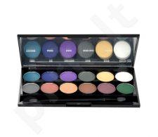 Sleek MakeUP I-Divine akių šešėliai Palette, kosmetika moterims, 13,2g, (731 Ultra Mattes V2 Darks)
