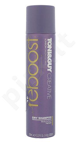 Toni&Guy Creative Express Reboost sausas plaukų šampūnas, kosmetika moterims, 250ml