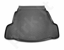 Guminis bagažinės kilimėlis HYUNDAI i40 sedan 2012-> black /N15022
