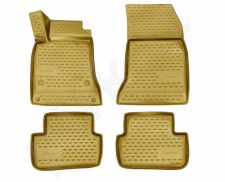 Kilimėliai 3D MERCEDES-BENZ A-Class W176 2012-> 4 pcs. beige /L46041B