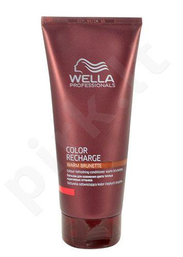 Wella Color Recharge Warm Brunette kondicionierius, kosmetika moterims, 200ml