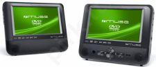 Automobilinis DVD grotuvas su dviem ekranais MUSE M-760 CVB
