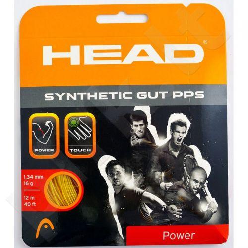 Styga teniso raketei Head Synthetic Gut PPS 16 auksinės spalvos
