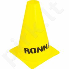 Stovelis treniruotėms Ronnay 15 cm geltonas