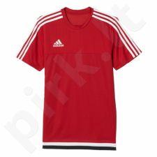 Marškinėliai futbolui Adidas Tiro15 Training Jersey M M64061