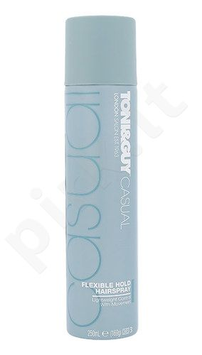 Toni&Guy Casual Flexible Hold plaukų lakas, kosmetika moterims, 250ml