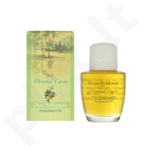 Frais Monde Oriental Cassis Perfumed Oil, parfumuotas aliejus moterims, 12ml