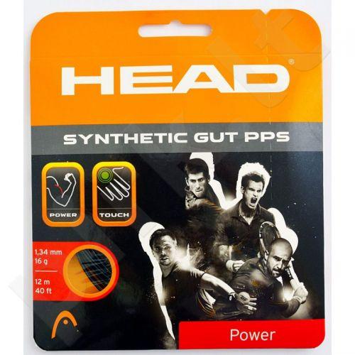 Styga teniso raketei Head Synthetic Gut PPS 16 juodas