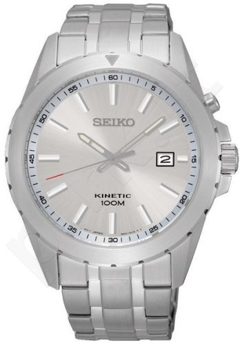 Laikrodis SEIKO SKA693P1 automatinis - SILVER DIAL S /S / STEEL apyrankė / WR 100mt