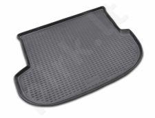 Guminis bagažinės kilimėlis HYUNDAI Santa Fe 2006-2012 black /N15032