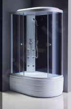 Masažinė dušo kabina R8606 kairė fabric/white