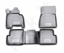Guminiai kilimėliai 3D MERCEDES-BENZ G-Class W463 2007->, 4 pcs. /L46020G /gray