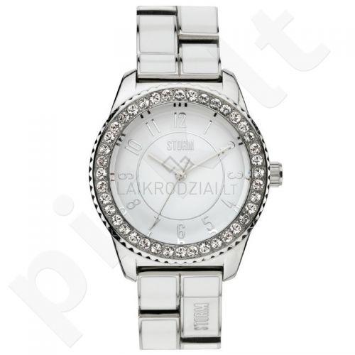 Moteriškas laikrodis Storm Neona White