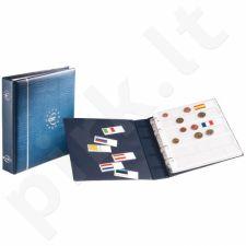 Didelis albumas euro monetų rinkiniams (minkštais viršeliais)