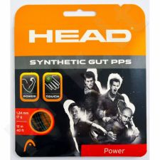 Styga teniso raketei Head Synthetic Gut PPS 17 juodas