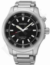 Laikrodis SEIKO SKA685P1 automatinis - BLACK DIAL S /S / STEEL apyrankė - 44mm - WR 100mt