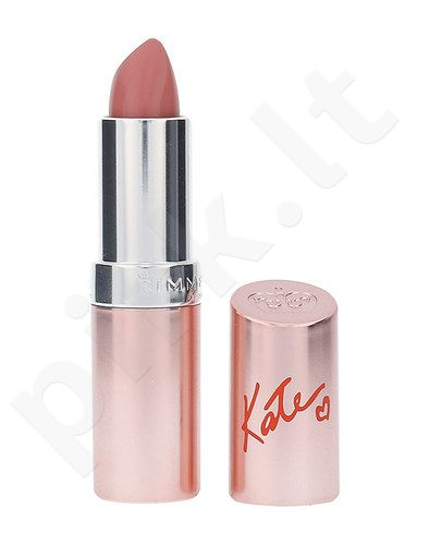 Rimmel London Lasting Finish By Kate 15th Anniversary lūpdažis, kosmetika moterims, 4g, (54 Rock´N´Roll Nude)