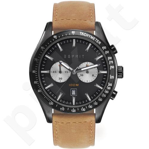 Esprit ES108241004 Ryan Brown vyriškas laikrodis-chronometras