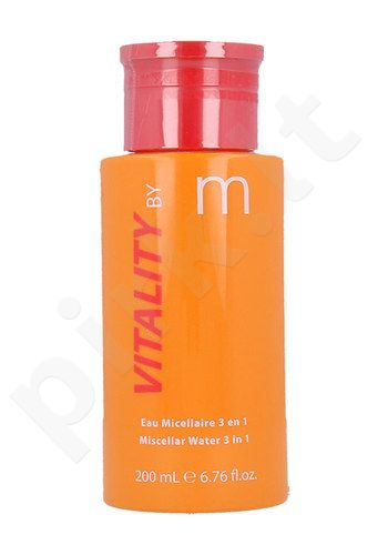 Matis Vitality By M miceralinis vanduo 3in1, kosmetika moterims, 200ml