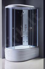 Masažinė dušo kabina R8606 dešinė fabric/white