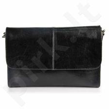 DAN-A T206 juoda rankinė iš natūralios odos , moteriška