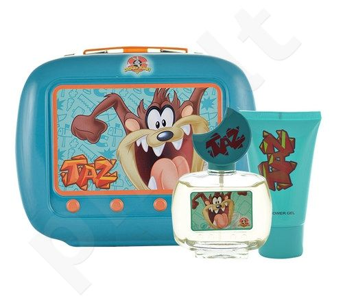 Looney Tunes Taz rinkinys vaikams, (EDT 50ml + 75ml dušo želė)