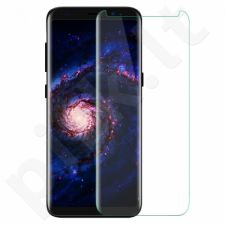 Tempered glass screen protector, Samsung Galaxy S8+, 3D (clear) full adhesive