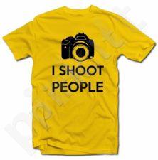 """Marškinėliai """"I shoot people"""""""