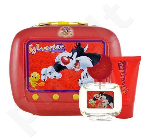 Looney Tunes Sylvester rinkinys vaikams, (EDT 50ml + 75ml dušo želė)