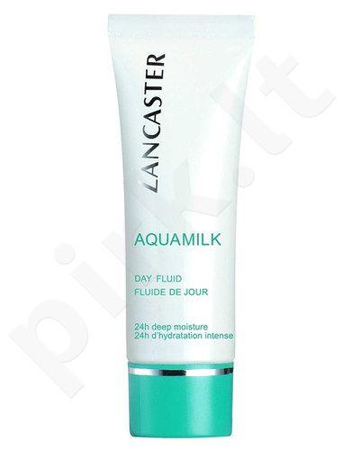 Lancaster Aquamilk 24h Deep Moisture Day Fluid, kosmetika moterims, 50ml