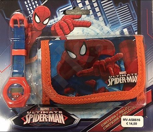 Laikrodis SPIDER-MAN + piniginė