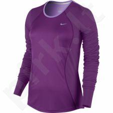 Marškinėliai bėgimui  Nike Racer Long-Sleeve W 645445-556
