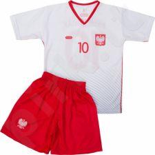 Komplektas futbolininkui Reda Polska Krychowiak 10 Junior