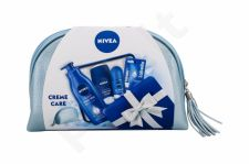 Nivea Creme Care, rinkinys dušo želė moterims, (dušo želė Creme Care 250 ml + Antiperspirant Protect & Care 50 ml + kūno pienelis 400 ml + Lip Balm Labello Original 4,8 g + krepšys)