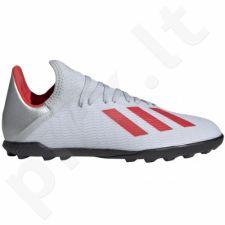 Futbolo bateliai Adidas  X 19.3 TF Jr F35358