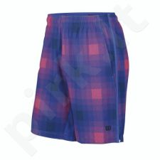 Šortai tenisui Wilson Summer Blur Plaid Stretch Woven 10 Short WRA700401