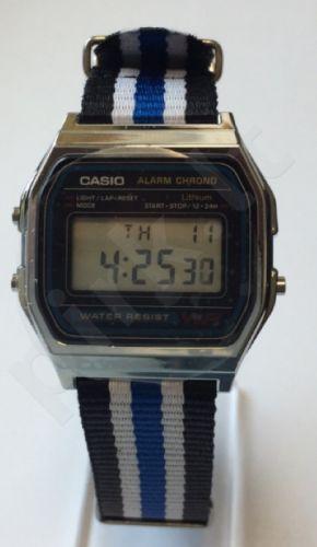 Laikrodis CASIO A158W NATO STRIPESTimer. . WR 30
