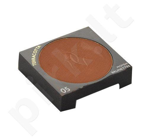 Guerlain Terracotta Bronzing pudra Moisturising, kosmetika moterims, 6g, (testeris), (05 Moyen-Brunettes)