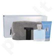 Azzaro Chrome rinkinys vyrams, (EDT 30 ml + dušo želė 50 ml + kosmetikos krepšys)