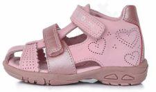 D.D. step rožinės basutės uždaru priekiu 25-30 d. ac2907035am