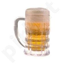 Ledinis alaus bokalas iš akrilo, 650 ml.