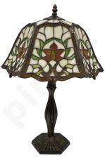 Vitražinė stalinė lempa 65999