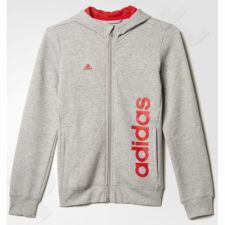 Bliuzonas  Adidas Linear Full Zip Hoodie Junior AY8329