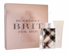 Burberry Brit for Her, rinkinys kvapusis vanduo moterims, (EDP 100 ml + EDP 7,5 ml + kūno losjonas 75 ml)