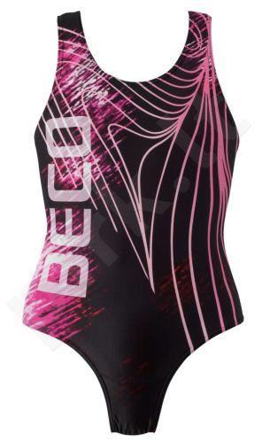 Maudimosi kostiumėlis mergaitėms BASIC 6827 04 176 black/pi
