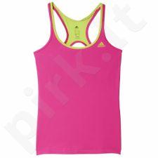 Marškinėliai treniruotėms Adidas Basic Strappy W AJ5376