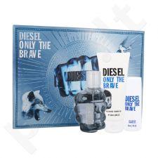 Diesel Only The Brave, rinkinys tualetinis vanduo vyrams, (EDT 75 ml + dušo želė 100 ml + dušo želė 50 ml)