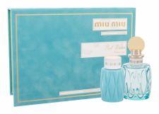 Miu Miu L´Eau Bleue, Miu Miu, rinkinys kvapusis vanduo moterims, (EDP 100 ml + kūno losjonas 100 ml)