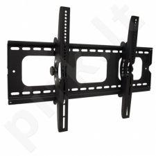 LCD monitoriaus laikiklis ART AR-08 |32-60'' |80kg |VESA |Vertikal. reg. |Juodas