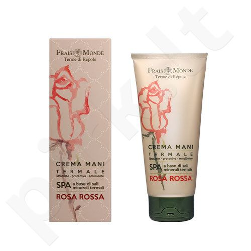 Frais Monde Red Rose rankų kremas, kosmetika moterims, 100ml